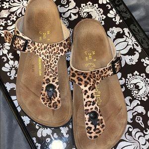 Leopard Birkinstock Papillio